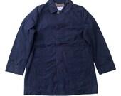 Mackintosh Philosophy Cotton Trench Coat Mackintosh Deisgner Plaid Lining Trench Coat Size M