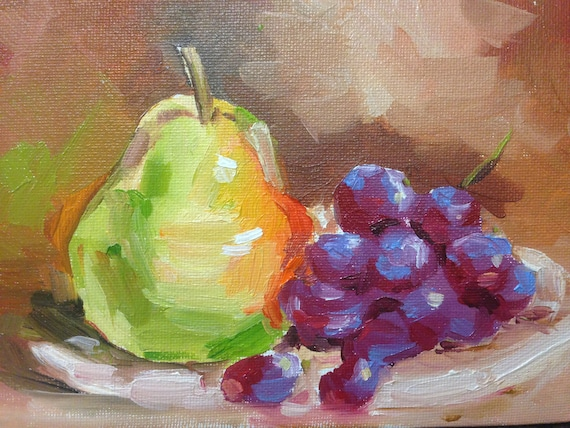 Grape and pear