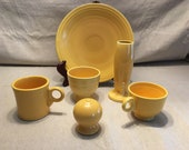 Vintage Fiesta Ware Yellow Pieces (1936 - 1969)
