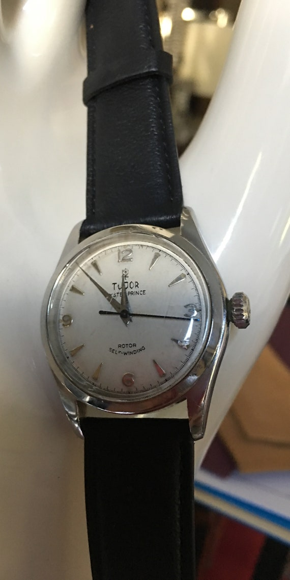 Rolex - 1950s Tudor Oyster Prince - image 1
