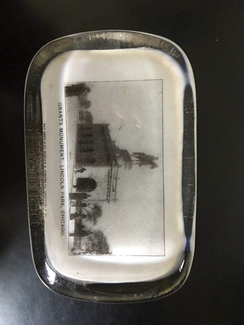 Antique Paperweights Prospect Point Niagra Civil War Grant/'s Monument