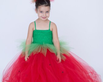 kids Strawberry costume dress