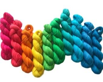 10-Color Sock Wt Kits