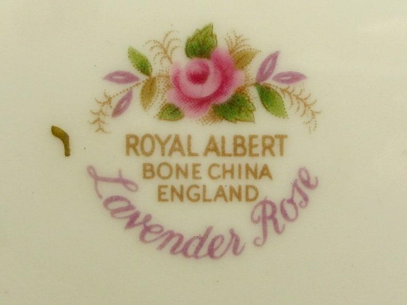 Royal Albert Lavender Rose Pattern Bone China England Candy Dish Sweet Meat Dish Trinket Dish Unique Christmas Birthday Anniversary Gift