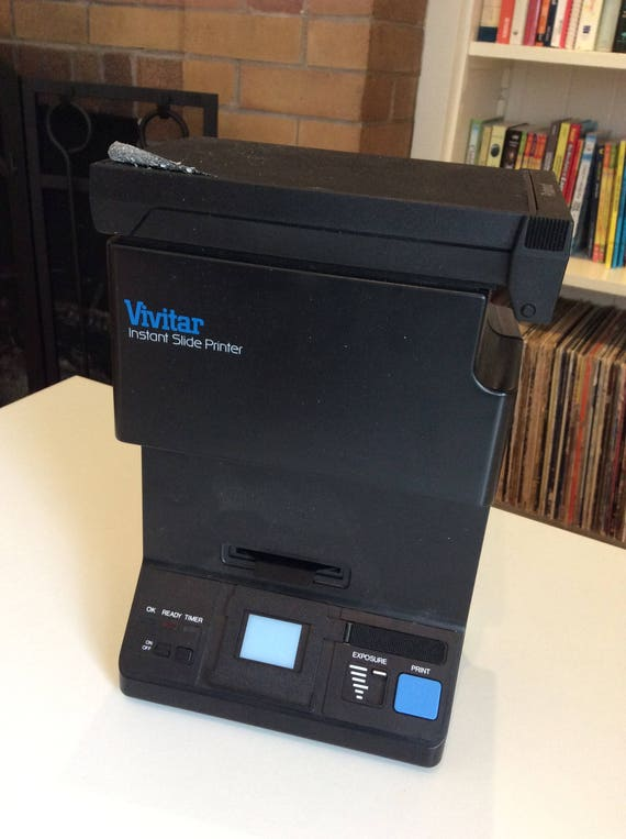 vivitar polaroid instant 35mm slide printer polaroid etsy