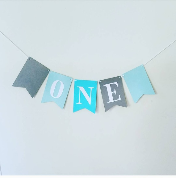 one banner happy birthday banner birthday banner personalized name