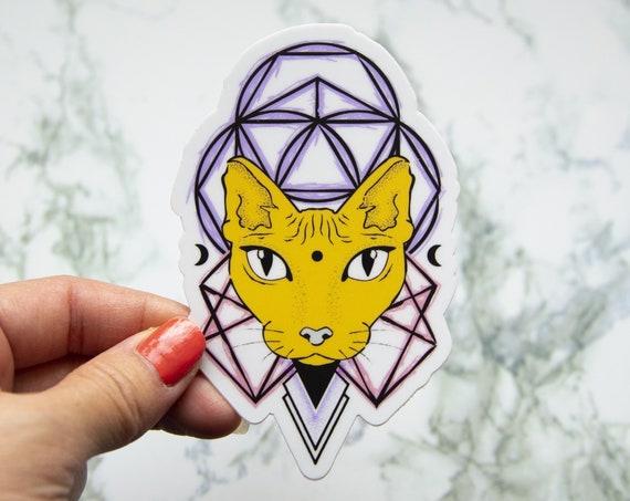 Woke Kitty Sticker