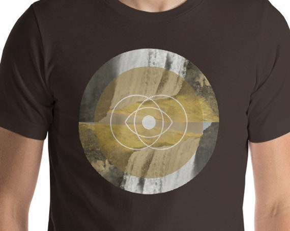 Vesica Piscis - Sacred Geometry short sleeve t-shirt