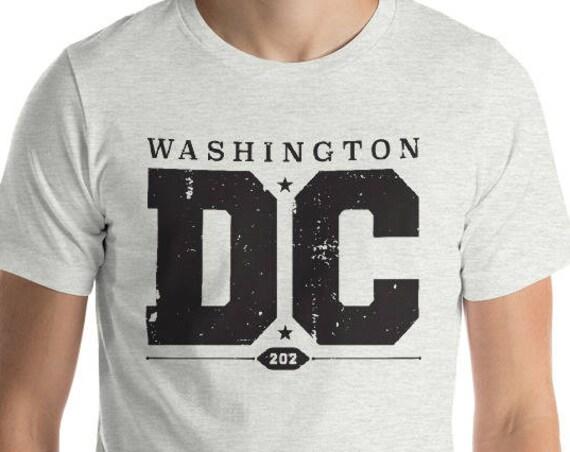 Washington DC - 202 Pride - Short-Sleeve Unisex T-Shirt