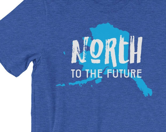 Alaska Pride - North to the Future short sleeve t-shirt