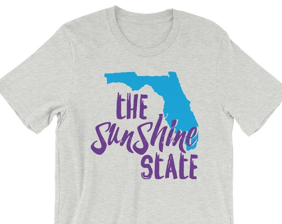 Florida Pride - state motto - The Sunshine State - Unisex short sleeve t-shirt