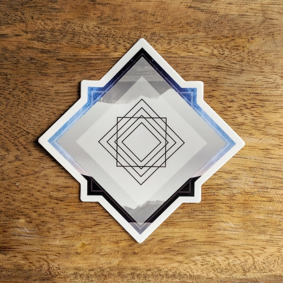 Synchronicity Sacred Geometry Sticker