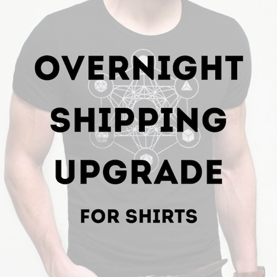 Overnight Shipping Upgrade (for shirts)