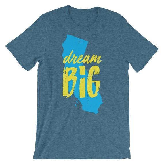 Dream Big - California Pride short sleeve t-shirt