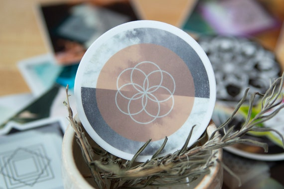 Seed of Life Sacred Geometry Sticker