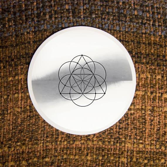 Solar Ternion Sacred Geometry Sticker