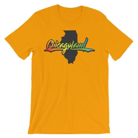 Chicagoland Illinois short sleeve t-shirt