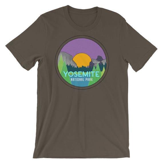Yosemite National Park Short Sleeve T-shirt