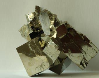 Large Beautiful Peru Pyrite Cubes