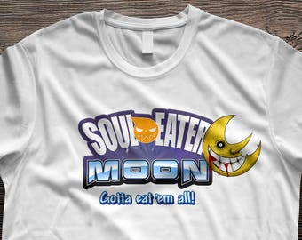 Soul Eater T-Shirt (Pokemon moon Parody)