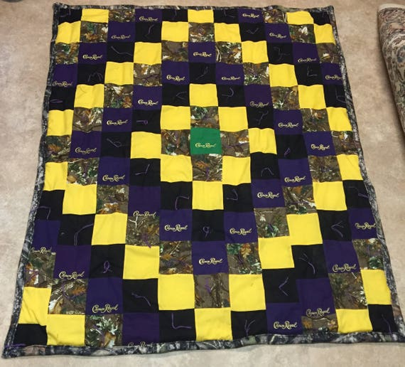 Crown Royal Camo Quilt Etsy
