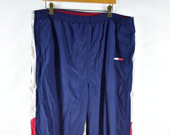 8384ad47c360b vintage tommy hilfiger athletics track pants size xxl