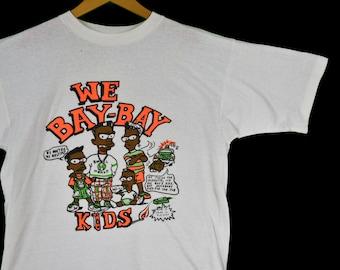 64bf4f54a vintage 90s bootleg bart simpson bay bay kids tee shirt size xl