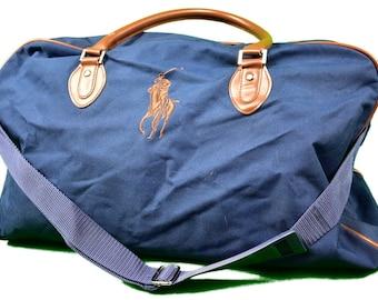 ca49be8318cc vintage 90s polo ralph lauren dhoulder bag