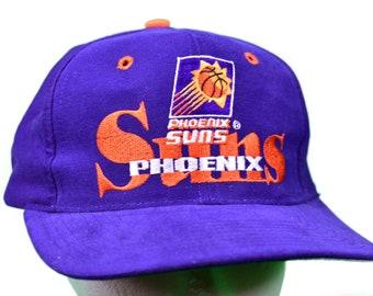 100% authentic c7374 2a35d vintage 90s phoenix suns snapback hat the game