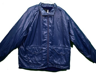 70/'s Eastern Michigan University Jacket Size MediumSmall Windbreaker Champion