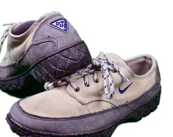 new product d5baf c80e1 vintage 90s nike acg hiking shoes size mens 8.5 rare