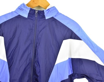 2630555c2ce vintage 90s nike gray tag windbreaker size womens large