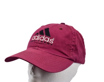203bb13f362 vintage 90s adidas equipment strapback hat