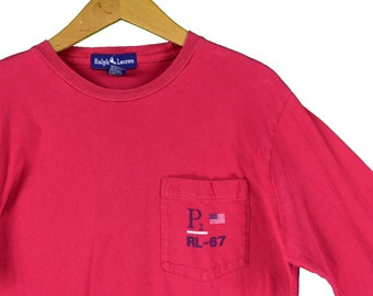 d04d3693d vintage 90s polo ralph lauren p2 sailing long sleeve tee shirt size medium