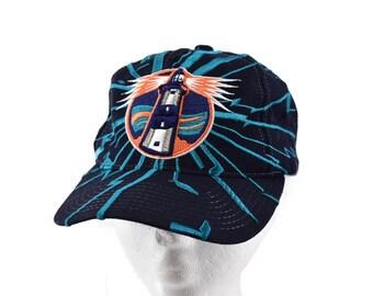 ce694ffbe35c5 vintage 90s new york islanders earthquake cracked starter cap