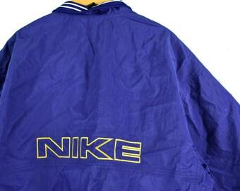 f170255fa3 vintage 90s nike windbreaker size xxl