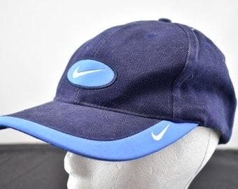 a7bd00ab3ec vintage 90s nike velcro strapback hat rare