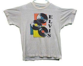 80s Memphis Tennessee Home Of Elvis t-shirt Medium