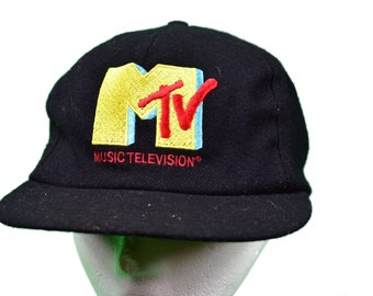 4396105babc vintage 90s mtv snapback hat