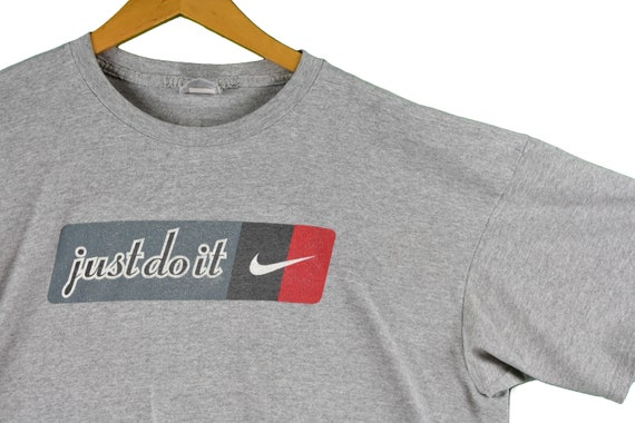best choice sells dirt cheap vintage 90s nike just do it tee shirt size xl