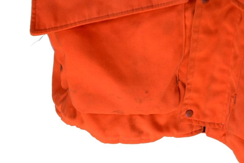 vintage 70s hunting coat size xl