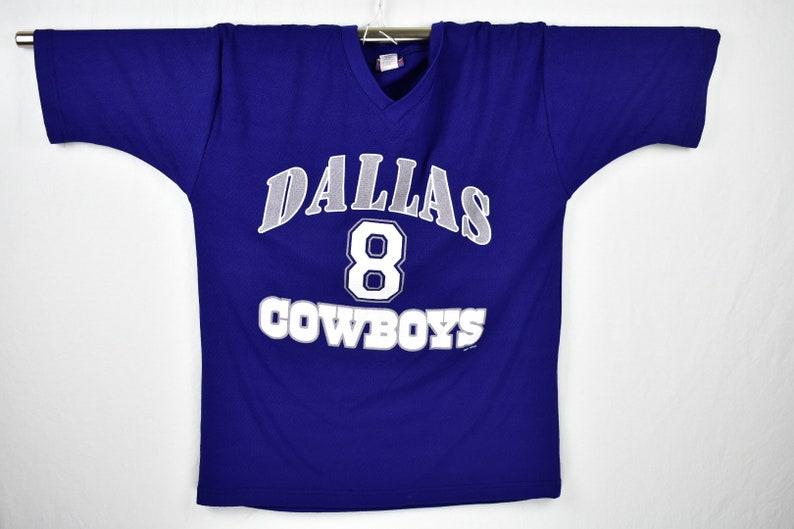 576639773 Vintage dallas cowboys troy aikman jersey shirt size large | Etsy