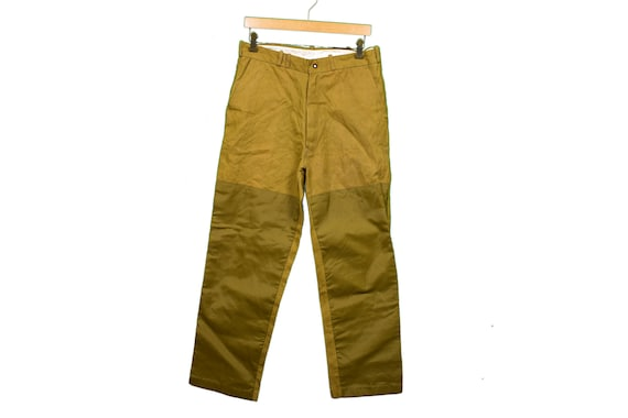 Vintage Woodsman Duxbak Brush Pants Size 31/28