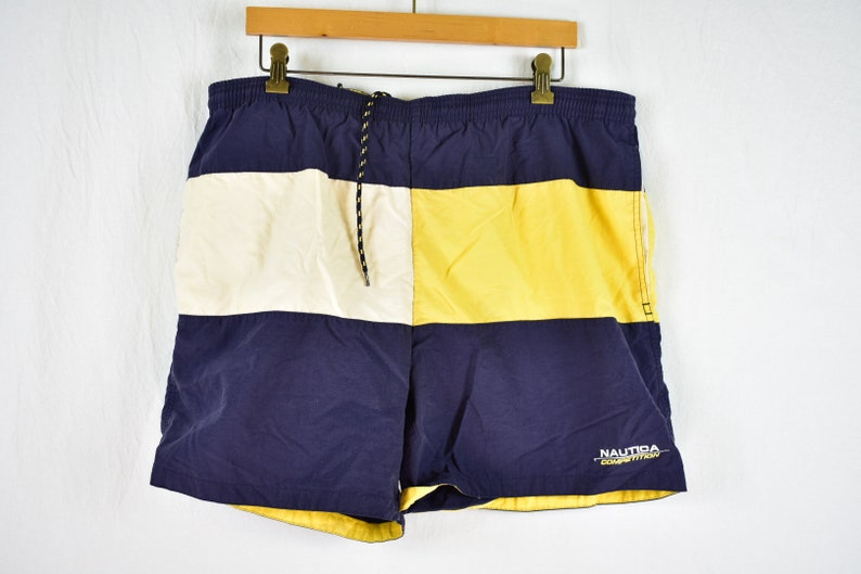 1b0595050181e Vintage Nautica Competition Shorts size Large