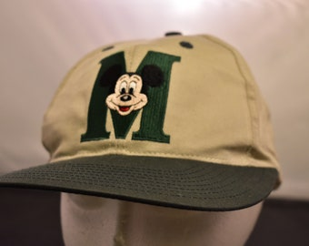 vintage mickey mouse  snapback cap 90s style