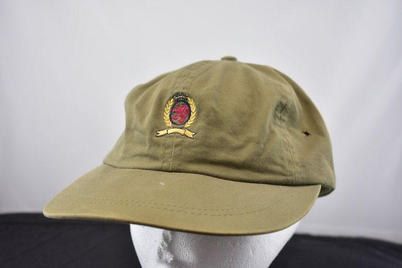 719d5bb9 Vintage tommy hilfiger crest hat made in usa elastic back rare | Etsy