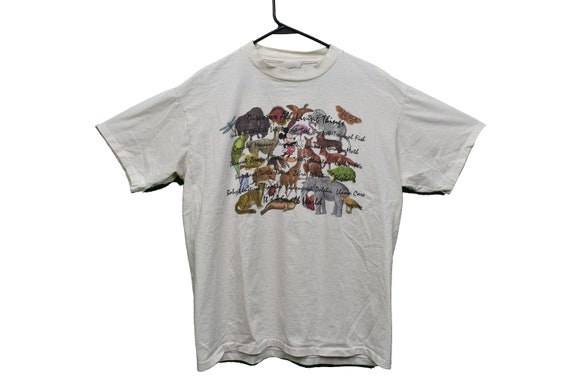 90s disney discover all living things animal tee s