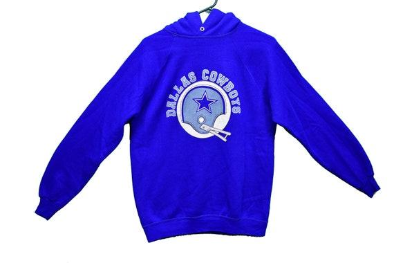 70s kids dallas cowboys hoodie size xl