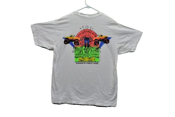 90s levis 501s monster truck tee shirt size xl
