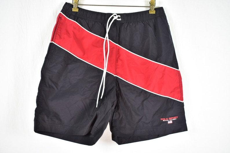 2f661b9ce5700 Vintage Polo Sport Ralph Lauren Swim Trunks Size Large | Etsy